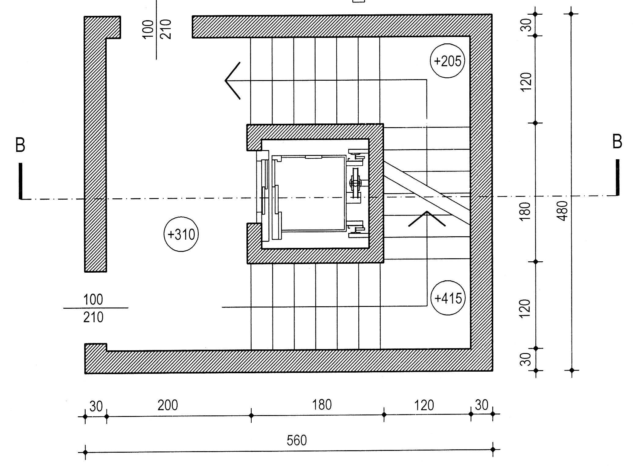 Disegnare Una Scala A Chiocciola disegno 2   matitare.it